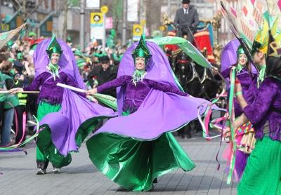 Un desfile de San Patricio