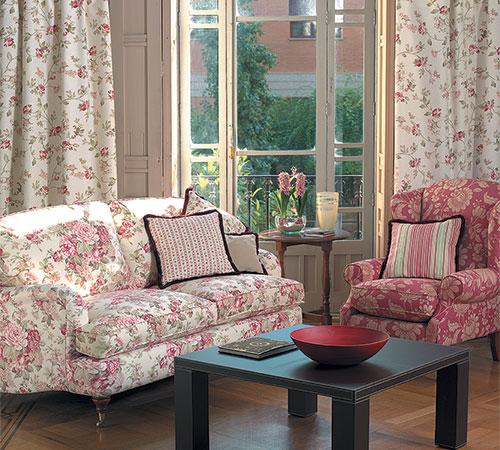 Cortinas modernas para dormitorios de la mas a masias for Cortinas de tela para dormitorios